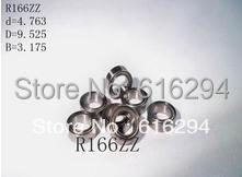 R166ZZ Bearing  ABEC-3  20PCS  R166ZZ deep groove ball bearings Free shipping