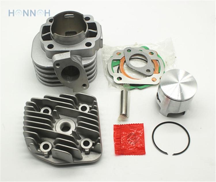 Цилиндр Minarelli для YamahJOG 50 jog50, мотоциклетный цилиндр JOG DIA = 47,6 мм, Minarelli JOG цилиндрический диаметр = 47,6 мм pin = 10 мм