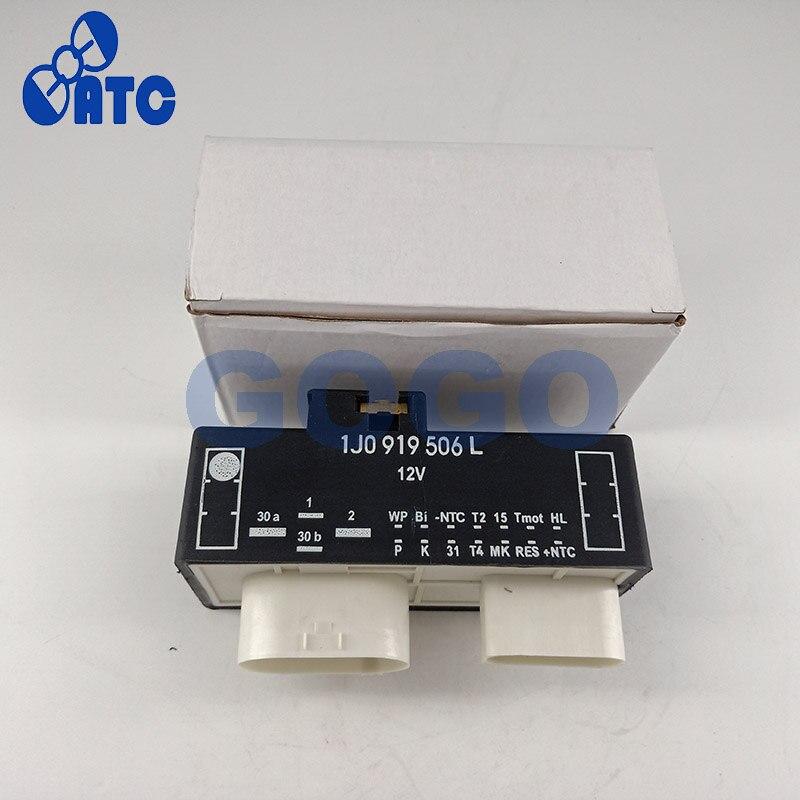 Ventilador de refrigeración interruptor de Control relé radiador para Volkswagen 1J0919506L 1J0 919 506L