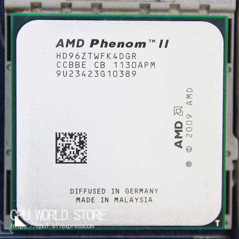 Четырехъядерный процессор AMD Phenom II X4 960T, 3,0 ГГц/6 м/95 Вт, розетка AM3 AM2 + 938 pin
