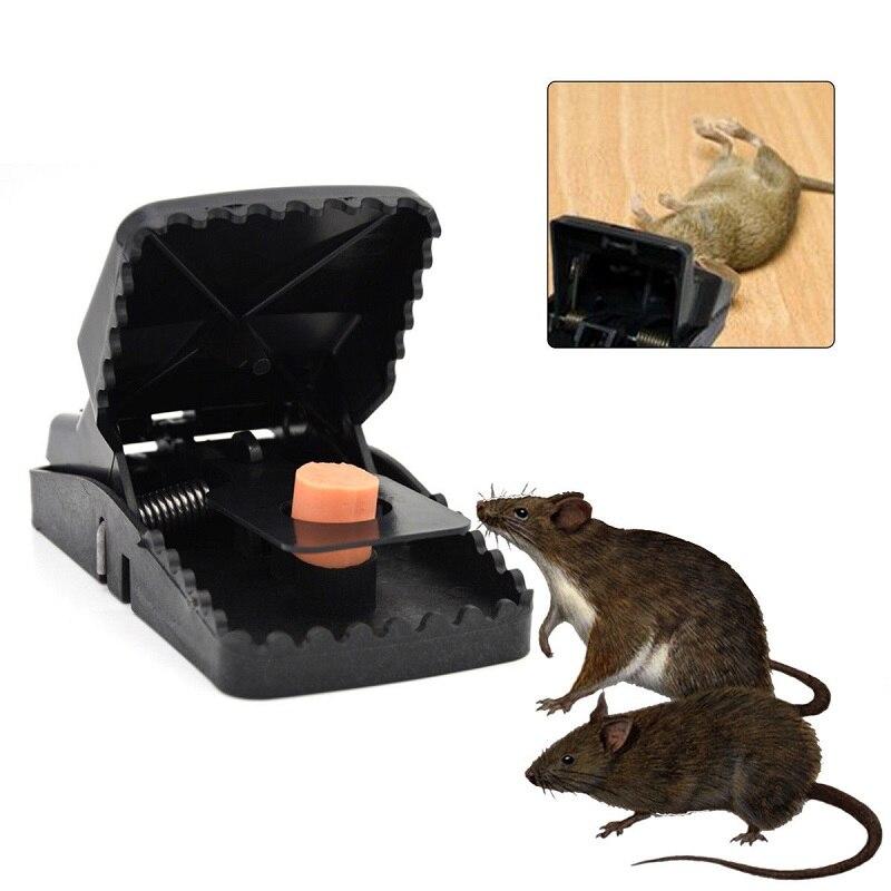 1/3/5 Uds reutilizable poderoso roedor asesino trampa de ratón topo repelente rata ratones trampa Control trampa cebo plagas atrapar