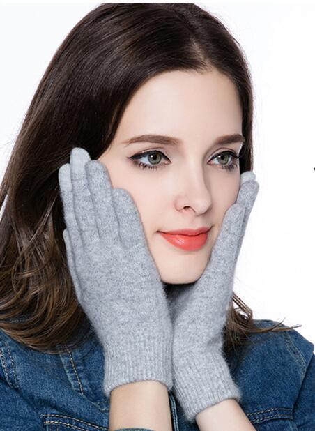 Gloves women Winter Mittens Touch screen