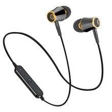 N64 Спортивные Bluetooth наушники, наушники с защитой от пота, магнитный наушник, стерео Беспроводная гарнитура для мобильного телефона Xiaomi Samsung