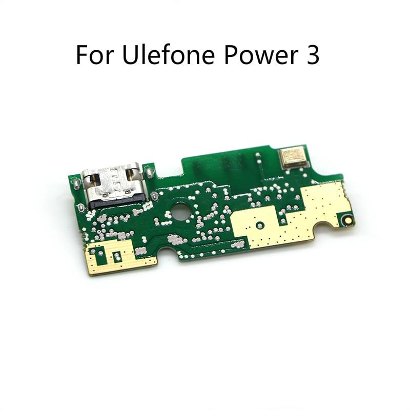 Placa de carga de enchufe usb Original para Ulefone Power 3/Power 3 s, módulo de carga de Cables flexibles para teléfono móvil, Mini Puerto USB