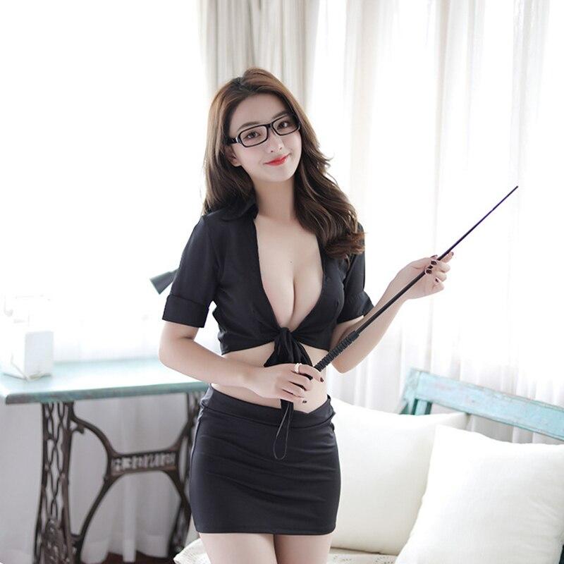 Nova chegada da escola professor lingerie mais sedutora quente sexy lingerie high school professor traje ternos professor role playing