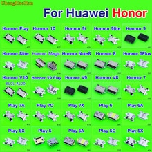 Micro usb jack charging socket for Huawei Honor 7 8 10 V10 V9 9i 8 9 Lite 6 plus magic note8 Play 5 6 6A 6X 5C 5A 5X  7A 7C 7X