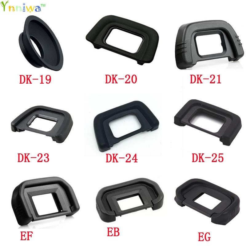 50 pçs/lote DK-19 DK-20 DK-21 DK-23 DK-24 DK-25 DK-5 EB EG EF Ocular Ocular Ocular de Borracha para nikon canon Slr