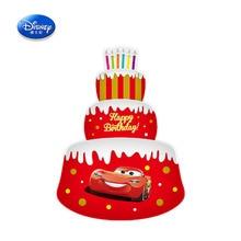 Disney Cartoon Mickey Minnie voiture jouets gonflables McQueen feuille daluminium gonflable 34 pouces trois couches gâteau ballons