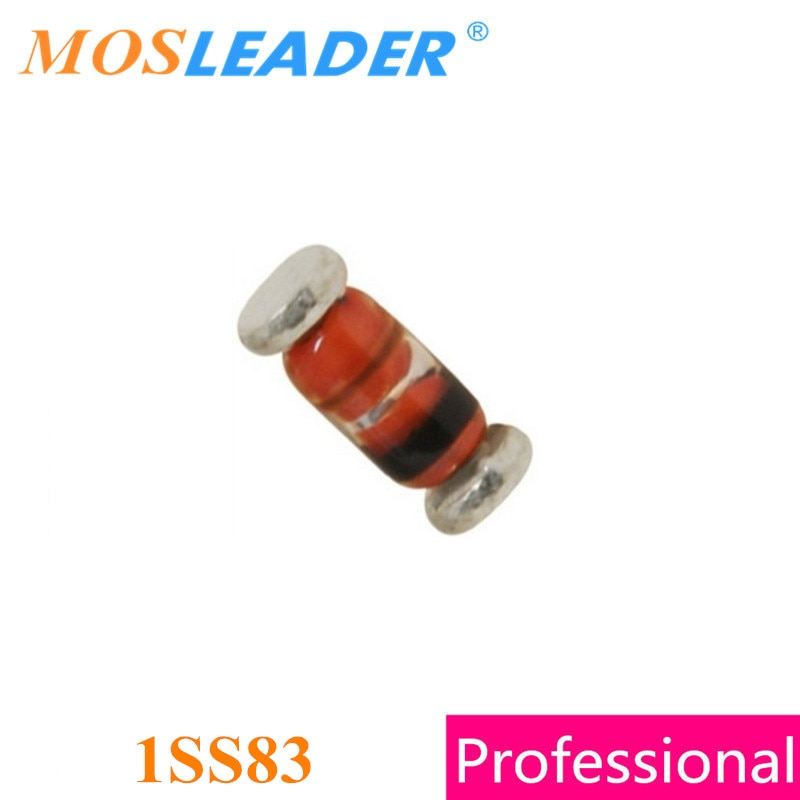 Mosleader 1SS83 0.2A SOD80 LL34 2500 pcs SMD 250 v Made in China de Alta qualidade