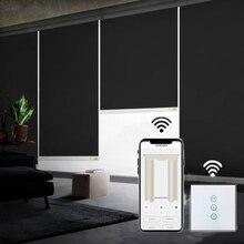 Moteur pour rideau, moteur tubulaire standard S avec interrupteur mural avec interrupteur wifi, pour stores roulants, volet roulant, maison connectée