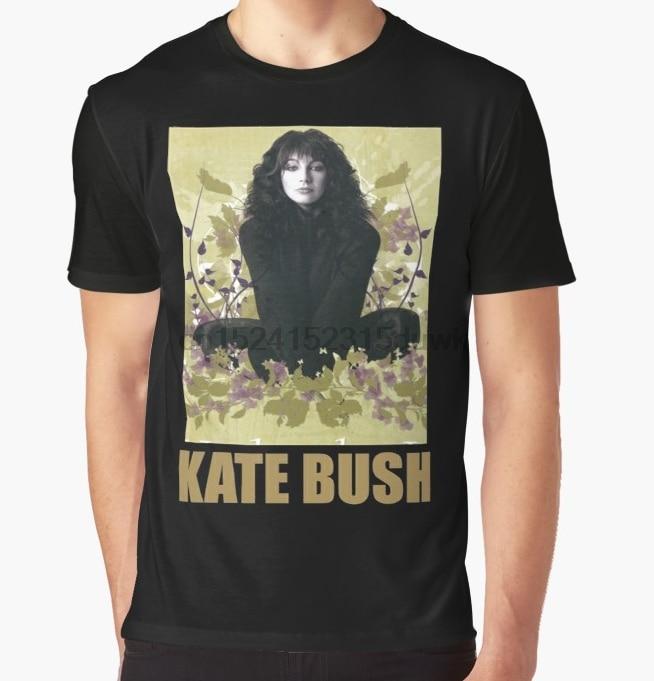 All Over Print T-Shirt Men Funy tshirt the beautiful singer kate bush Short Sleeve O-Neck Graphic Tops Tee women t shirt