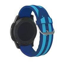 Ouhaobin nova pulseira de liberação rápida para smat relógio esporte silicone macio pulseira de relógio para samsung gear s3 frontier cintas