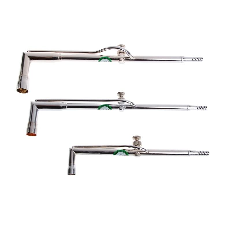 Práctica antorcha de soldadura de acero inoxidable, joyería, herramienta de soldadura DIY S M l-w128