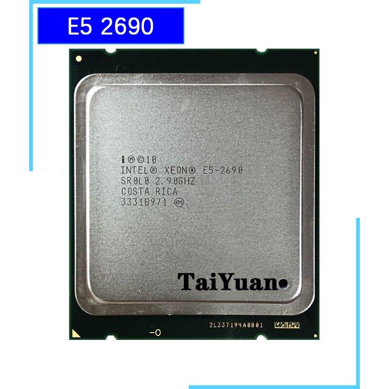 Intel Xeon E5-2690 E5 2690 de 2,9 GHz de ocho núcleos 16-Hilo de procesador de CPU 20M 135W LGA 2011