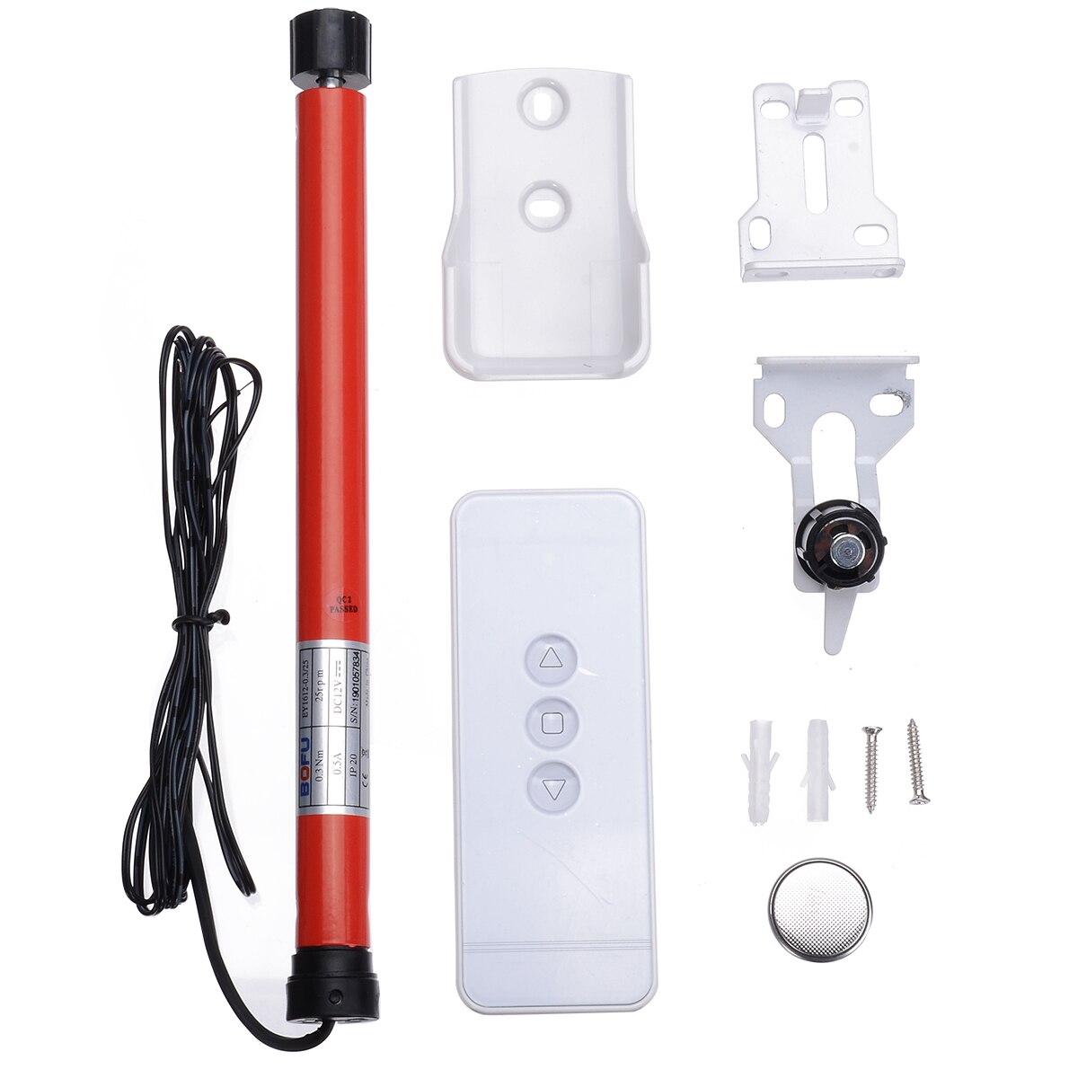 Автоматический валик для самостоятельной покраски, 12 В, трубчатые электрические шторы, жалюзи, интеллектуальный пульт дистанционного управления