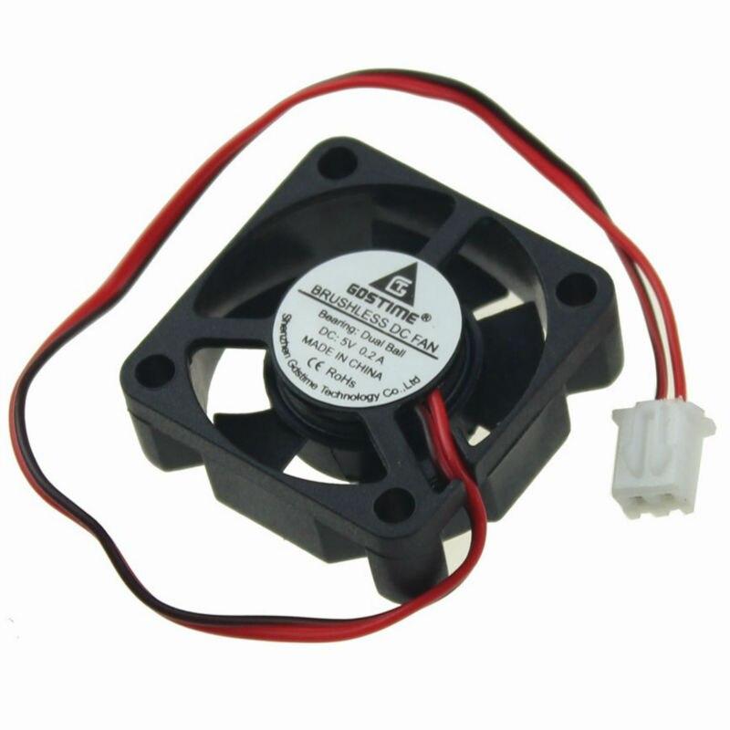 1Pcs Gdstime 5V 2 Pin 30mm 30*30x10mm Ball Bearing Small Micro DC Brushless Cooling Cooler Fan