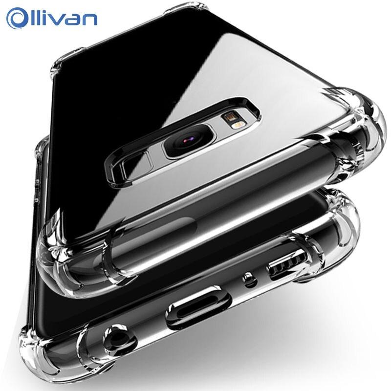 Para Samsung Galaxy S20 S10e S10 S9 S8 Plus Nota 9 10 A6 A8 2018 A50 A30 A60 A70 A71 A51 A31 A01 TPU de silicona cubierta del teléfono caso