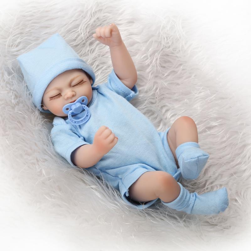 Corpo inteiro bebê reborn realista silicone macio toque real vinil silicone brinquedos para crianças no aniversário brinquedo acessórios