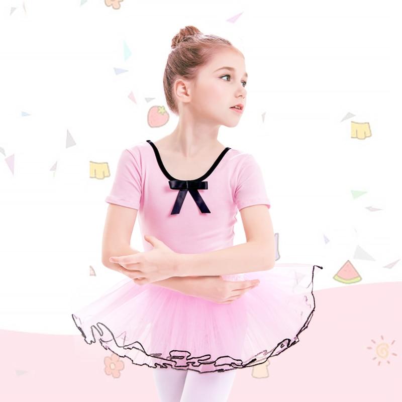 Розовое балетное платье-пачка для девочек; танцевальные костюмы из Мягкого Тюля; балетная танцевальная одежда; трико