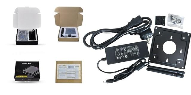 Qotom mini pc i7 Q470S with Core i7-4500U up to 3.0GHz AES-NI 3G/4G SIM slot,WOL 7/24h Fanless Low Power small desktop computer 10