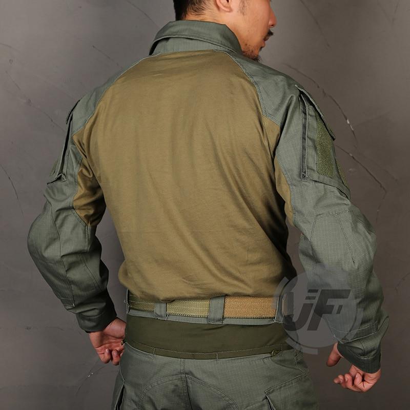 Emerson G3 versión avanzada camisa táctica de combate Airsoft traje CP estilo campo de batalla Tops uniforme de asalto camisa de caza
