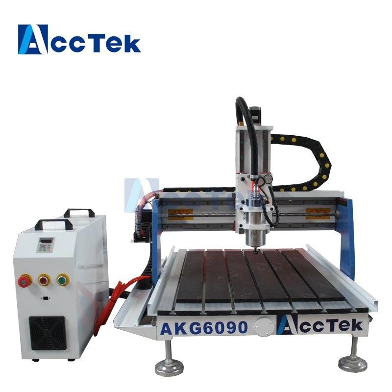 AccTek, venta al por mayor, máquina de pantógrafo para la venta, enrutador de torno portátil 4040/6040/6090