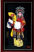 Cadres photo artisanat de décoration pour filles   Artisanat de décoration, motifs drelief, personnages de lopéra de pékin, pendentifs, Festival du vent chinois