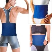 new 2015 fitness protection waist slimming exercise wrap belt waist support belt fat burner body neoprene cellulite breathable