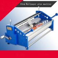 53cm glue coating machine coater Wallpaper Paste cementing gumming starching gluing machine