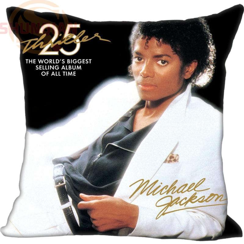 La mejor y nueva funda de almohada de Michael Jackson #138, funda de almohada decorativa para boda, regalo personalizado para almohada CoverW & 17212