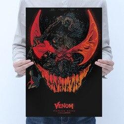 Marvel Venom Poster Aufkleber Spielzeug Für Erwachsene 2020 Neue Marvel Venom Figures Film Poster Aufkleber Decals Venom Aufkleber Wohnkultur