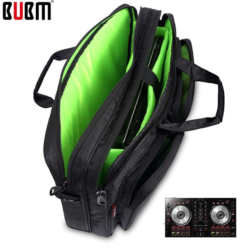 BUBM-حقيبة كتف لوحدة تحكم DDJ SB DJ للرجال ، حقيبة حماية خلاط ، حقيبة تروس محمولة ، علبة تروس DJ