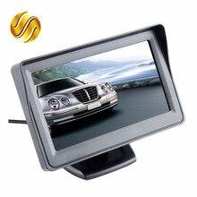 "Car Monitor 4.3"" Screen For Rear View Reverse Camera TFT LCD Display HD Digital Color 4.3 Inch PAL/NTSC"