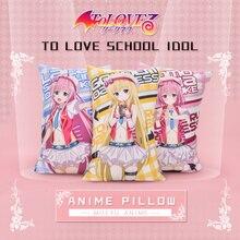 Anime To Love Ru Nana Momo Rara Darkness Mikan Yui Hugging Body Pillow Kawaii Cushion 35x55/45x70cm Plush 2WAY Fabric
