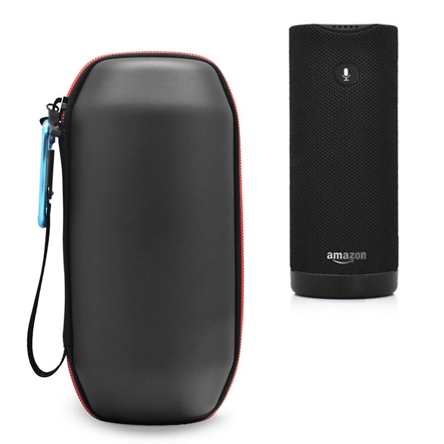 Nueva Bolsa para altavoz portátil EVA, bolsa de almacenamiento para transporte de viaje, cubierta protectora blanda, paquete para Amazon Tap Sports, Altavoz Bluetooth