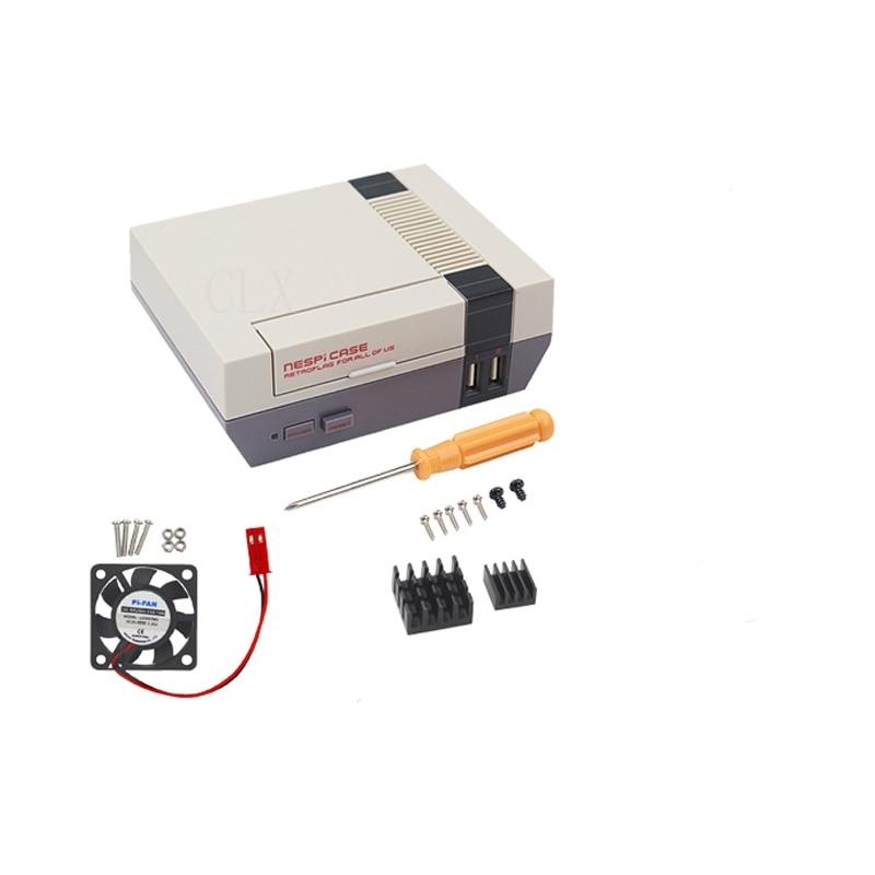 NES NESPI CASE Retroflag Case with Cooling Fan Designed for Raspberry Pi 3 / 2 / B+