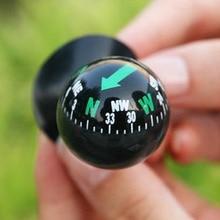 Mini Flexible Navigation Compass Ball Dashboard Boat Truck Suction Pocket Compass