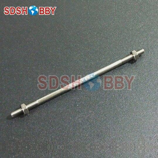 1 Pza * barra de empuje anodizada en forma de Z M3X70/M3X75/M3X90/M3X100mm con dientes antihorario de doble cara