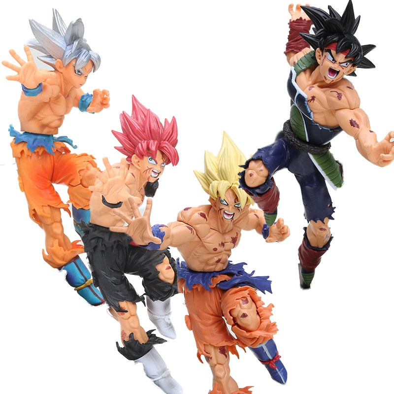 Dragon Ball Z Action Figures Son Goku Burdock Dragon Ball Super Saiyan DBZ Bardock Goku PVC Action Figures toy