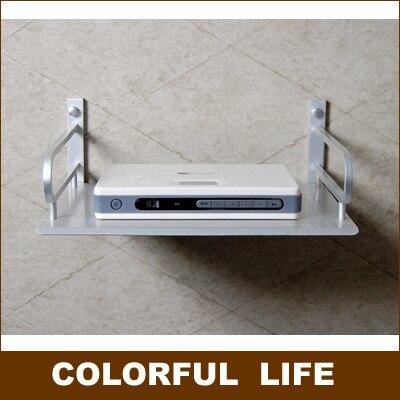 Dvd, 라우터, 스위치, 모뎀, 벽걸이, 홈 데코레이션 하드웨어 용 선반/랙