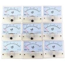 85C1-mA DC Ampli Mètres Compteur Analogique Panneau Plage De Mesure 1mA 3mA 5mA 10mA 20mA 30mA 50mA 100mA 300mA 500mA Micro Courant
