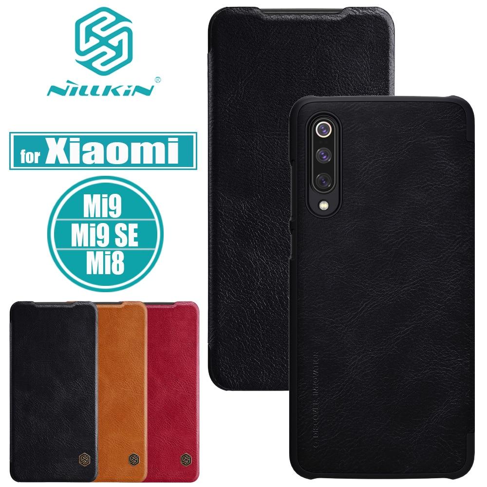 Nilkin для Xiaomi Mi 9 8 SE, чехол Nillkin, Ретро стиль, Роскошный PU кожаный флип, чехлы для смартфонов Xiaomi Mi9 Mi8 SE Capa