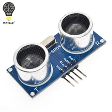 Expédition gratuite 5PC HC-SR04 HCSR04 au monde détecteur dondes à ultrasons Module de portée HC-SR04 capteur de Distance HC SR04 HCSR04