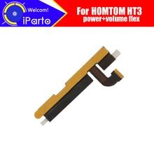 HOMTOM HT3 FPC Flex Cable 100% Original Power+Volume Button FPC Wire Flex Cable repair accessories for HOMTOM HT3