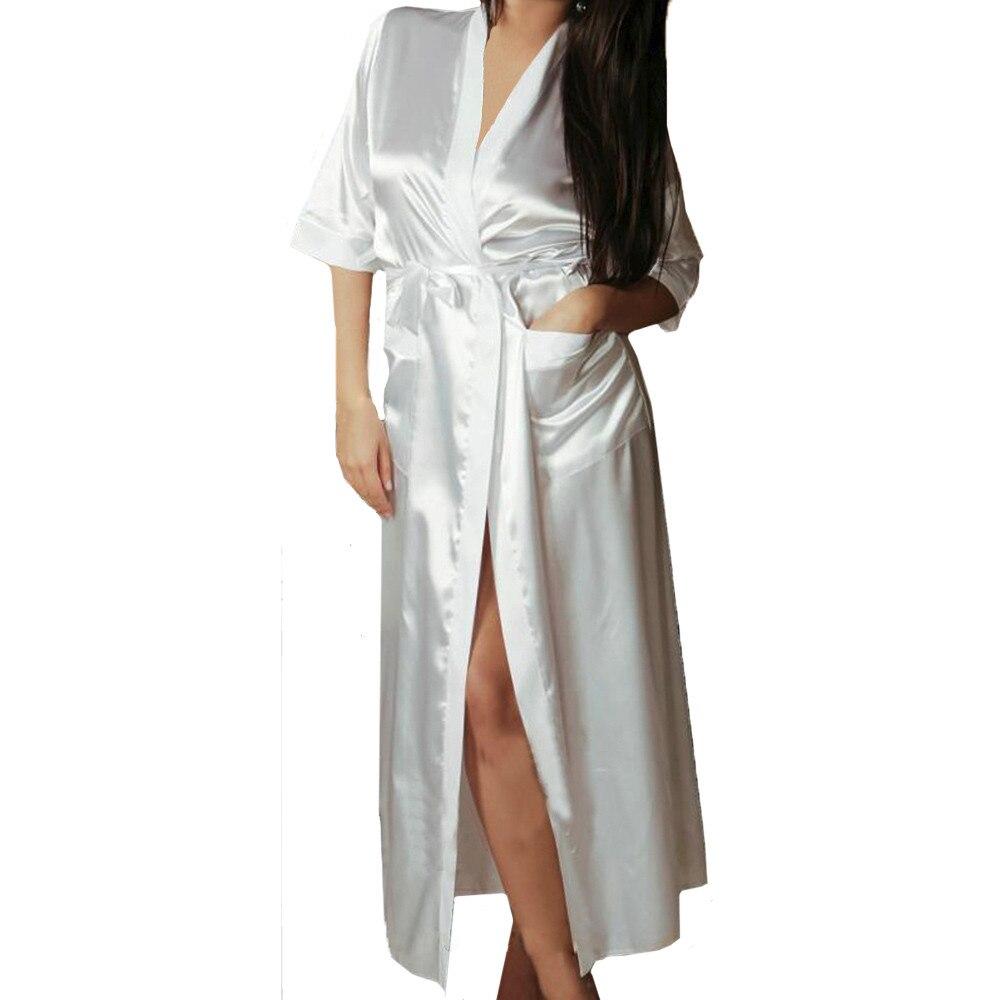 Regarder Nightgown Sexy Pajamas For Women Sleepwear Plus Size Lingerie Lace Babydoll Deep V Neck Sleepwear Pink Underwear #p3