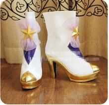 LOL Janna Star Guardian fille magique la fureur de la tempête canon Cosplay chaussures fille chaussures