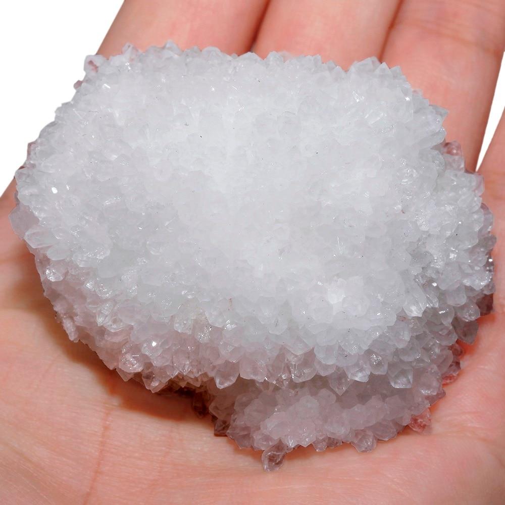 TUMBEELLUWA Natural Rock Quartz Cluster Geode Druzy Specimen Healing Crystal недорого