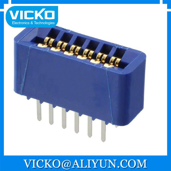 [VK] EBC06DRXN CONN EDGECARD 12POS DIP .100 SLD, موصلات حافة البطاقة