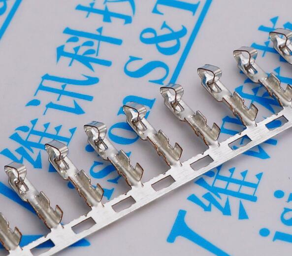 (500 pçs/lote) conector kf2510 2510 conectores de tomada terminal passo 2.54mm 0.1 polegada cabo de fio habitação pino fêmea