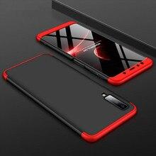 Fashion 360 Degree Hard Hybrid Plastic Phone Case For Samsung Galaxy S9 S8 Plus A7 A6 A8 J8 J4 J6 Plus 2018 A750 Note 8 9 Cover